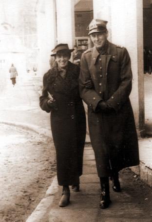 Gustaw Nowosielski z bratowa Maria z Grabowskich