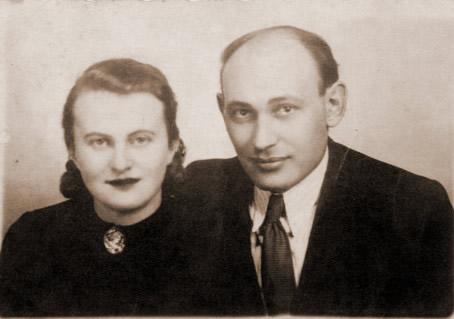 Lidia i Jerzy Nowosielscy