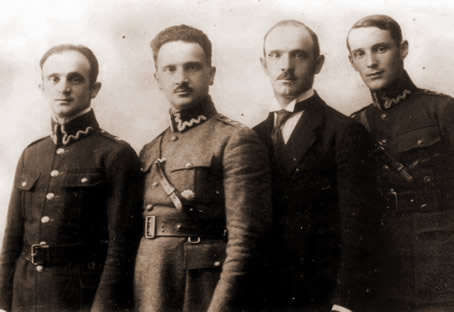Seweryn, Wladyslaw, Tadeusz i Gustaw Nowosielscy