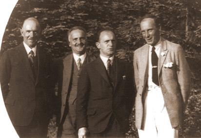 Tadeusz, Wladyslaw, Seweryn i Gustaw Nowosielscy